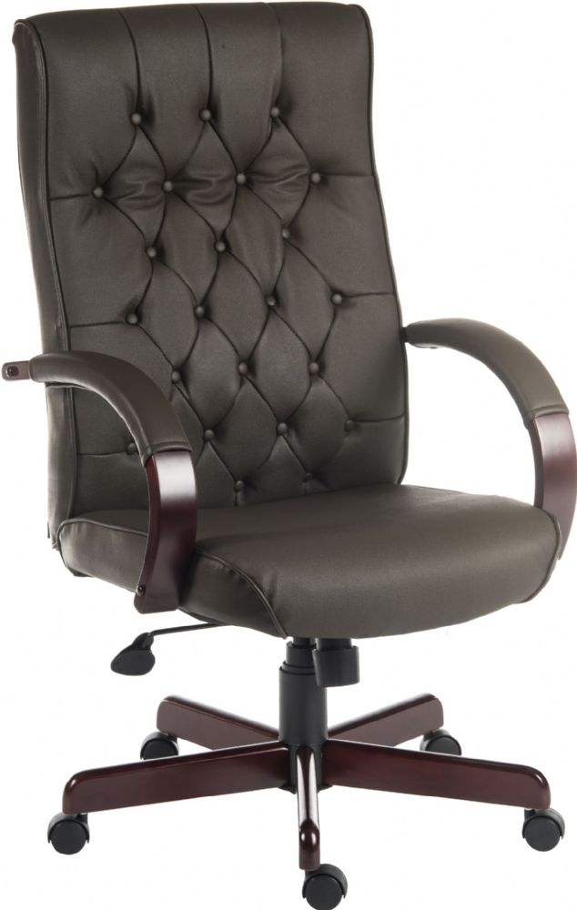 TEKNIK WARWICK Executive Traditional Chair with Button Back